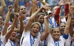 Women's U.S. World Cup win may have sparked protests against gender pay gap