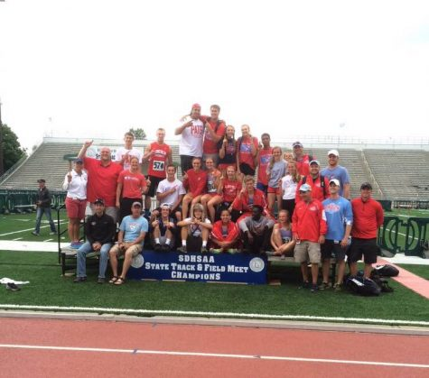 The LHS boys and girls track team bring home state titles