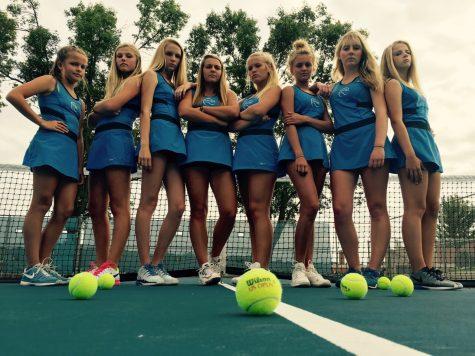 LHS girls tennis in full swing