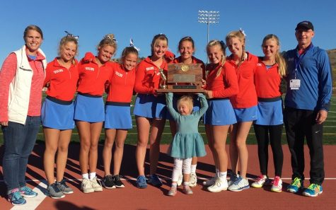 Lincoln girls tennis team: Sweeping the competition
