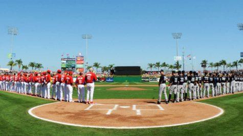 MLB spring training in full effect