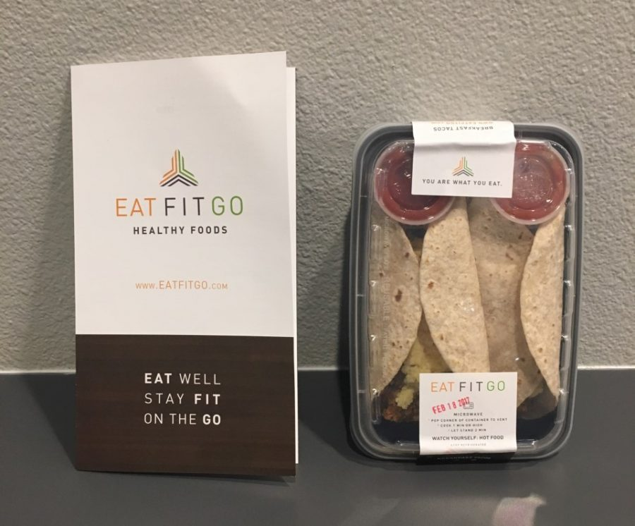 Not your regular taco: it's Eat Fit Go