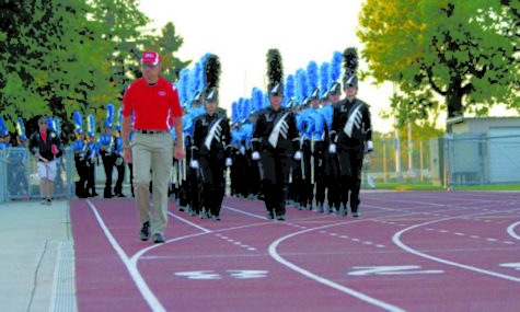LHS Marching Band introduces new theme