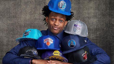 2017 NBA draft lottery results