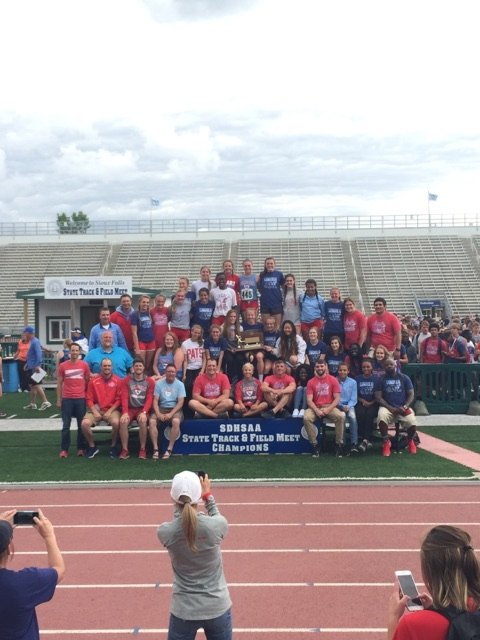 Patriot teams win boys and girls State track championships