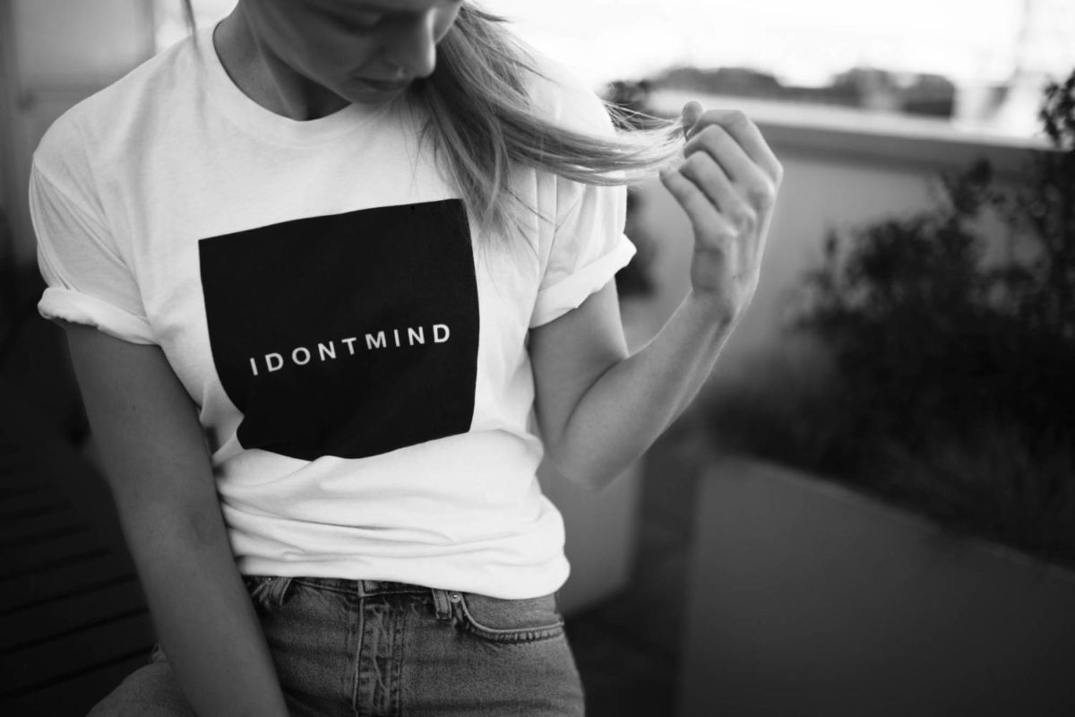 Melissa+Benoist+is+supporting+the+IDONTMIND+campaign+launched+by+Chris+Wood.