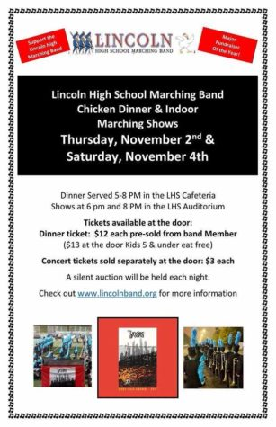 Marching Band Indoor Concert  information