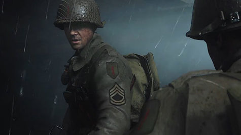 "The long awaited release of ""Call of Duty WWII"""