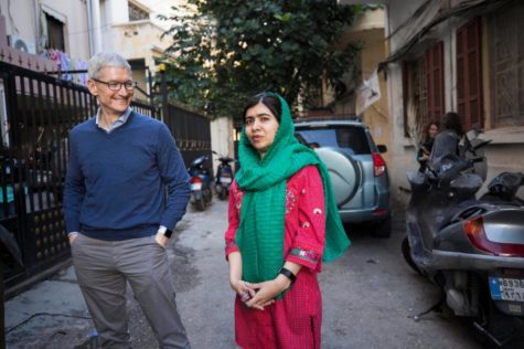 Apple and Malala: The fruit of education gets a boost