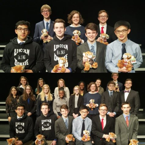 LHS Speech teams reach success at Rushmore District Tournament