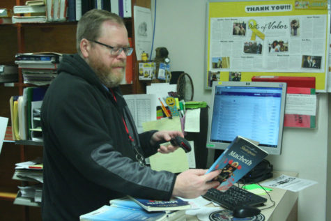 Inside the textbook cave with Mr. Fjellanger