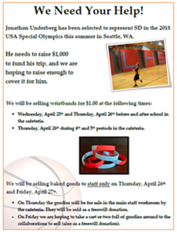 Help Underberg go to the USA Special Olympics