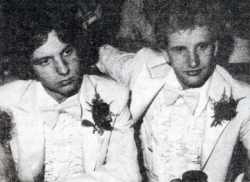 Then LHS senior Randy Rohl and his date, Grady Quinn attend LHS prom in 1979.