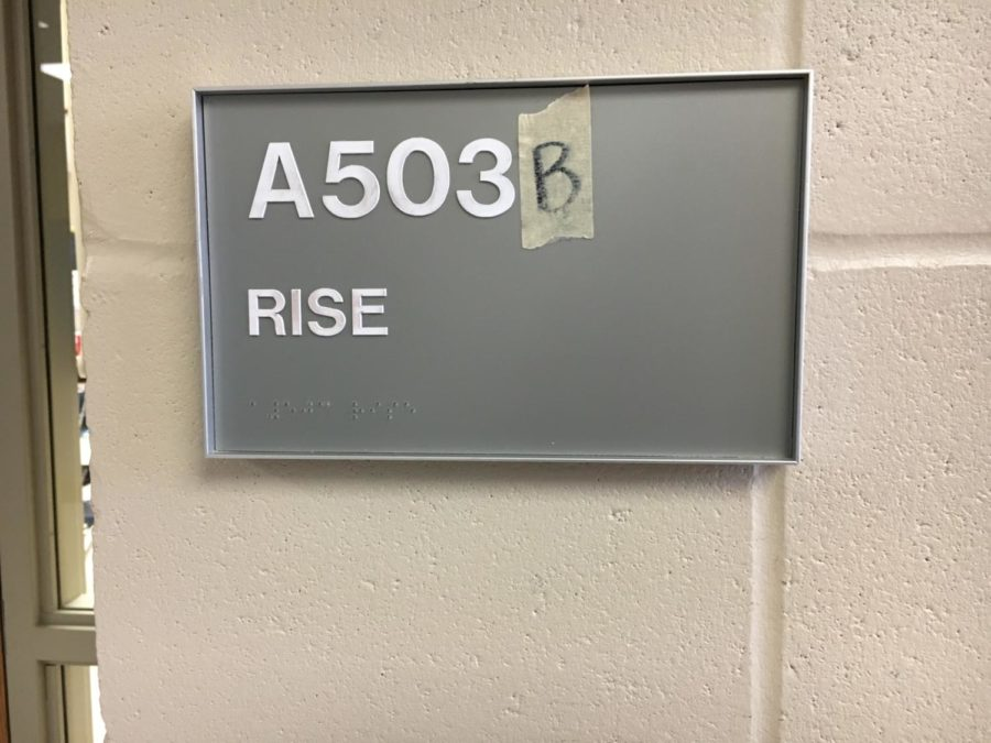 The LHS RISE room, located in room A503, is dedicated to providing education for individuals with cognitive disabilities.