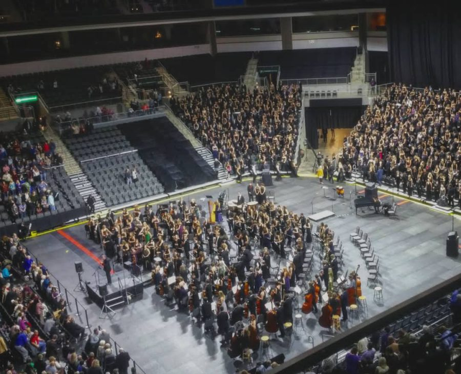 The+2017+All-State+Orchestra+in+Sioux+Falls.+