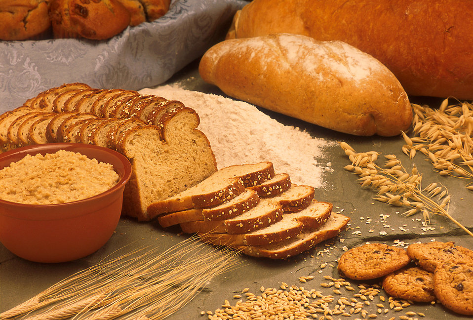 Bread is a frequently consumed item containing gluten.