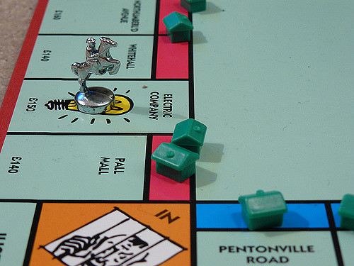 This normal Monopoly board looks completely different in Monopoly for Millennials