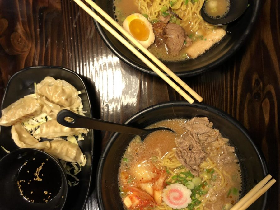 Gyoza%2C+Kimchi+Ramen+and+Char+Siu+Ramen+from+Ramen+Fuji.