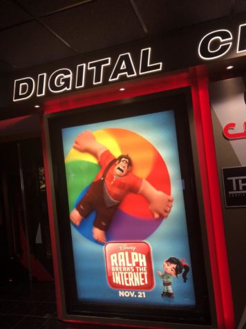 Ralph Wrecks the Internet movie poster in Century 14 theater.
