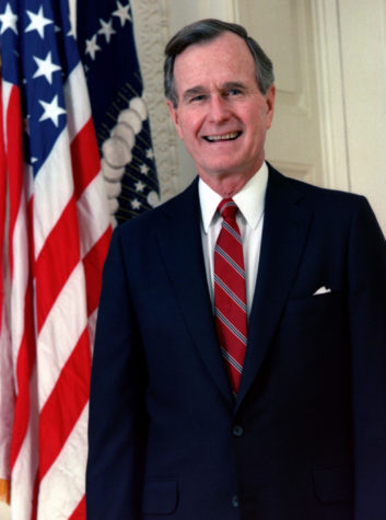 George H.W Bush honored