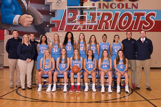 The 2017-18 Girls Varsity Basketball team placed third at the state tournament held at the Denny Sanford Premier Center.