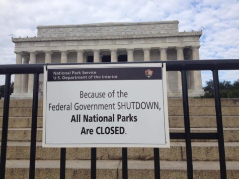 Due to the government shutdown, federal properties are closed.