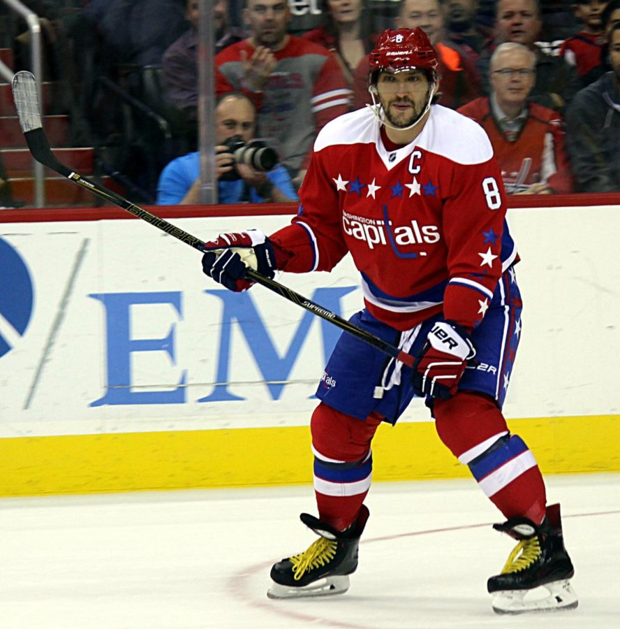 Ovechkin was a key part of his team's success in the 2018 Stanley Cup Playoffs.