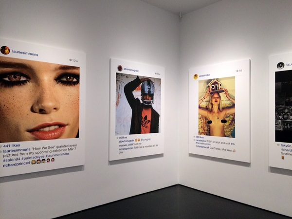 Prince's show featured essentially a gallery of women's Instagram photos.
