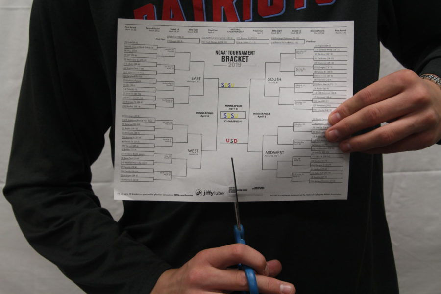 By the time the Sweet Sixteen was set, all but one bracket was busted.