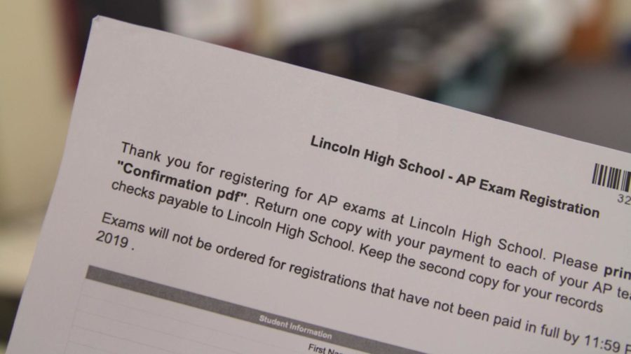 In the past, AP students have printed a confirmation sheet after registering with Total Registration