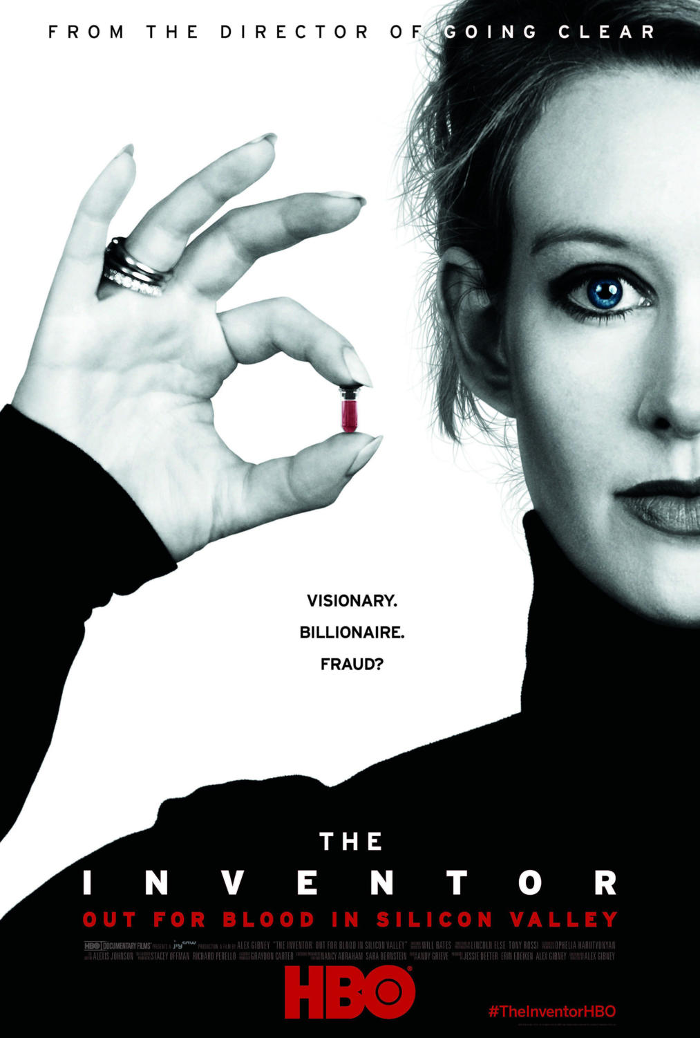 The story of Theranos, a multi-billion dollar tech company, its founder Elizabeth Holmes, the youngest self-made female billionaire, and the massive fraud that collapsed the company.