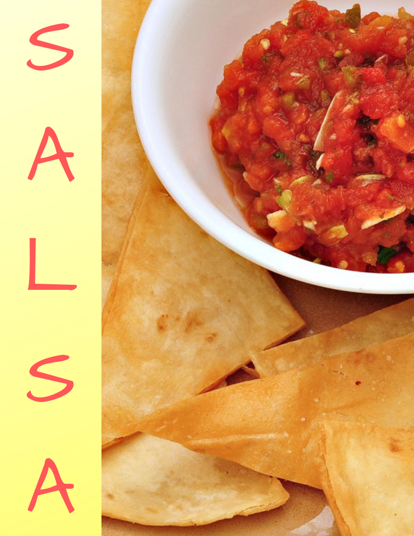 SALSA can be chunky,  sweet, sour, or spicy. Either way the LHS SALSA club is a fiesta.