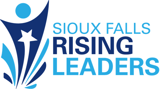The logo for the Sioux Falls Rising Leaders Summit, which will take place on April 27 in Sioux Falls.