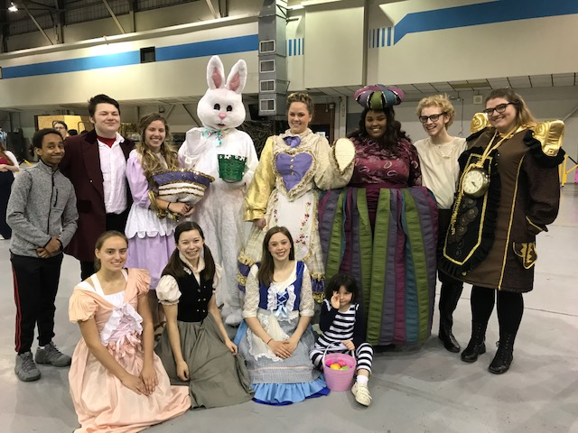 Theater+department+volunteers+pose+with+the+Easter+Bunny.+Left+to+right%3A+Lewhat+Tesfaldet%2C+Court+Anderson%2C+Abbigale+Hellevang%2C+Margaret+Meierhenry%2C+Danielle+Koang%2C+Timothy+Stolp%2C+Suzanne+Fitterer%2C+Leah+Berdahl%2C+Savannah+Chhen%0Aand+Ramsey+Folkerts.