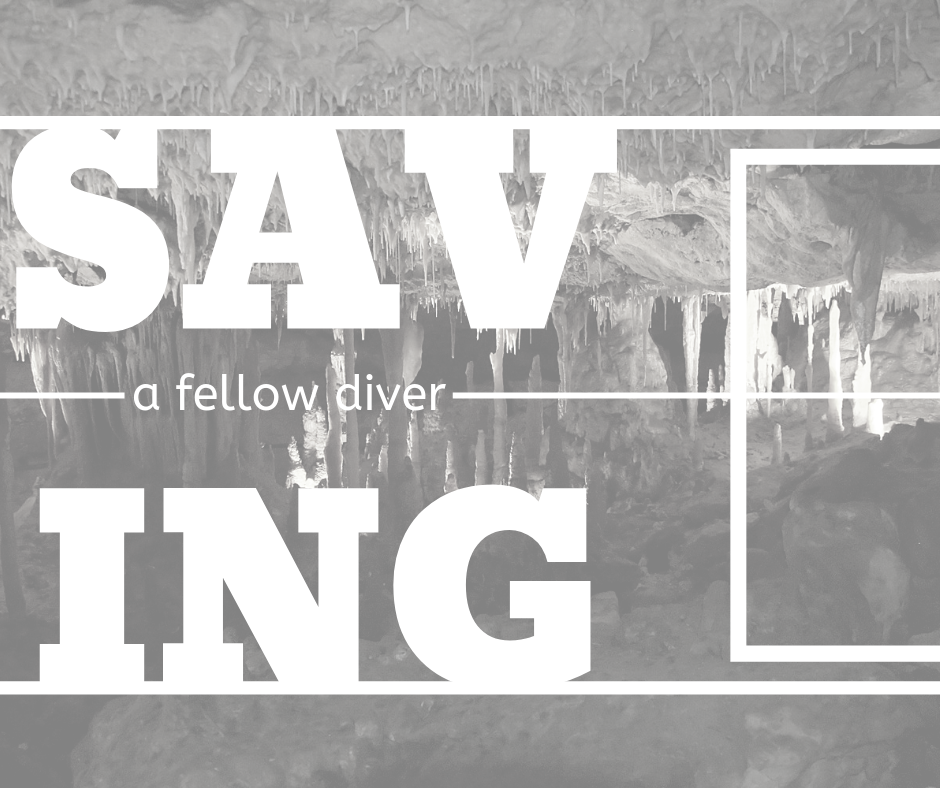 On Wednesday morning a British diver was rescued from a caving accident.