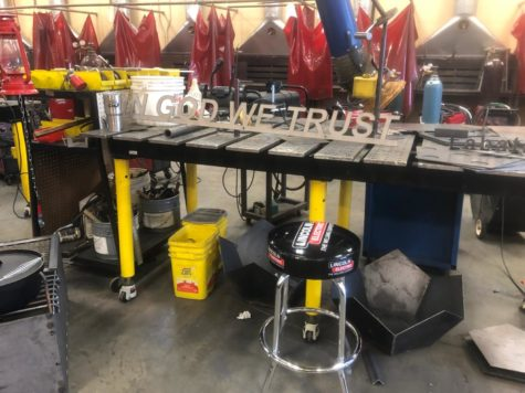 The CTE welding academy may be providing the displays for Sioux Falls schools