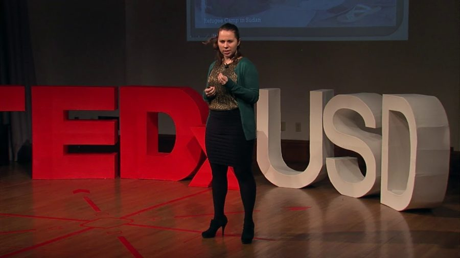 Kristyne+Duffy+speaks+at+TEDxUSD+last+year+in+Vermilion%2C+SD