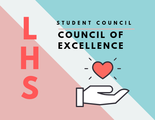 LHS Student Council has recently been recognized as a council of excellence.