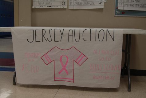 Bidding for breast cancer awareness