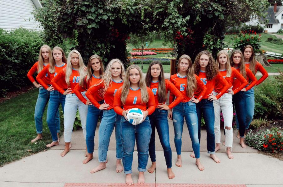 The 2019 LHS volleyball team will head to Rapid City for the State volleyball tournament.