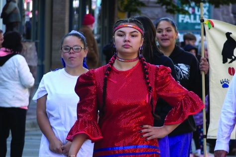 Flying and healing: Native American dancers take center stage