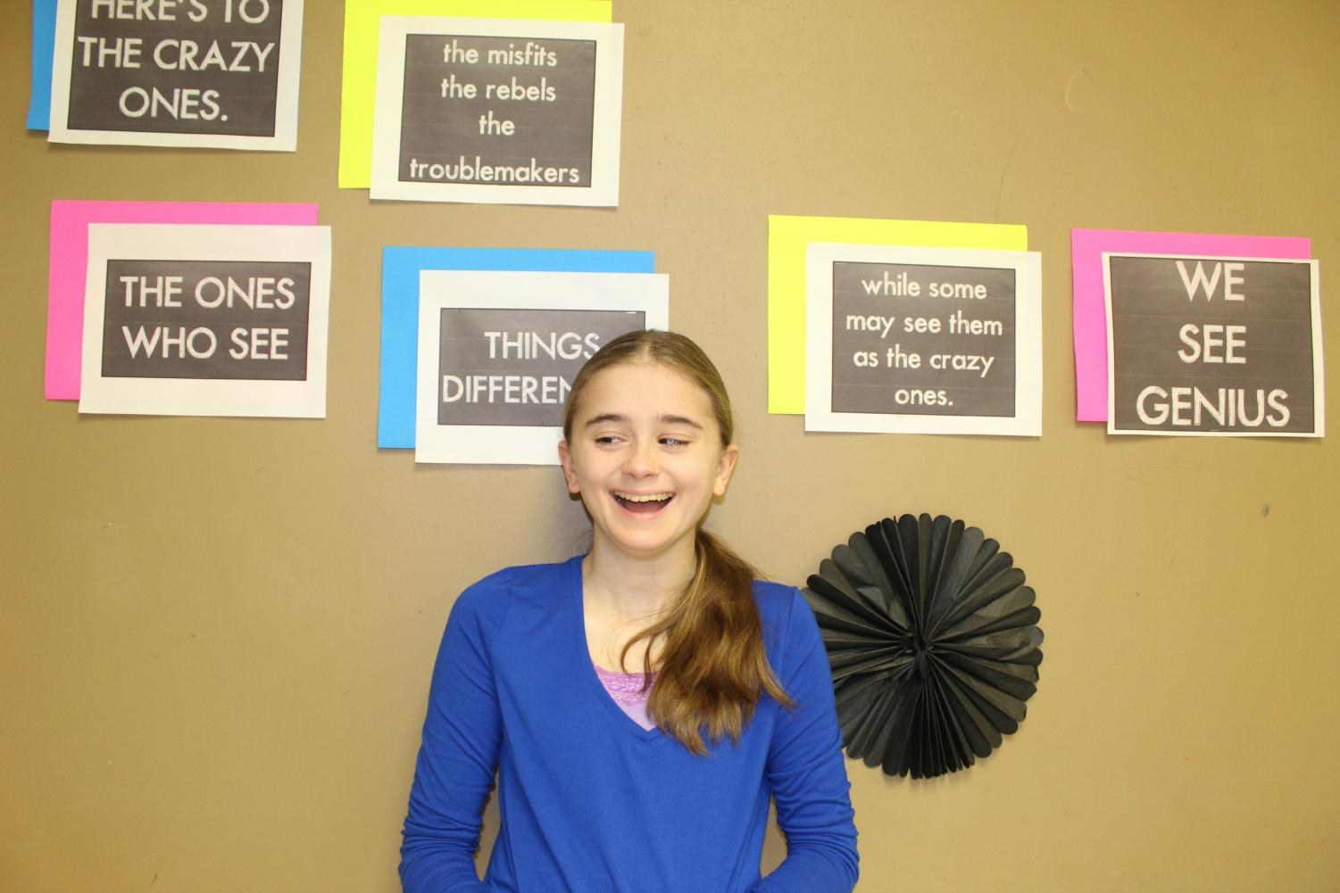 LHS Freshman Jaela Lammi hopes that others understand her disability.