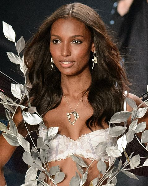 Victoria's Secret model, Jasmine Tookes at 2014 Fashion Show in London, England.