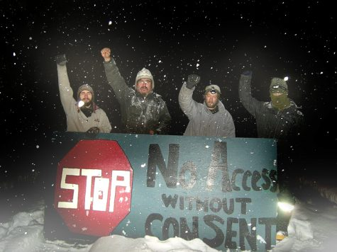 The Wet'suwet'en people protest the natural gas pipeline being enforced upon their land, much to the Canadian government's dismay.