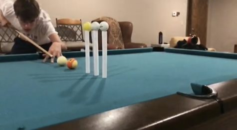Baker takes his shot with pool videos