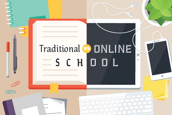Traditional education versus an online education has become a hot topic in recent years.