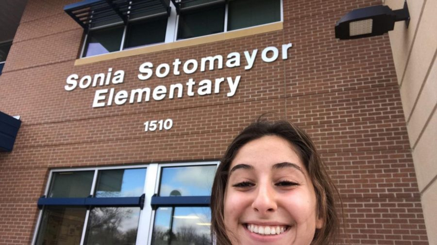 LHS+junior+and+Spanish+IV+student+Ana+Simeonova+also+goes+to+Sonia+Sotomayor+twice+a+week+to+work+with+a+third+grade+class+of+Spanish-speaking+students.