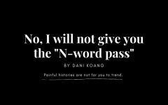 """No, I will not give you the """"N-word pass"""""""