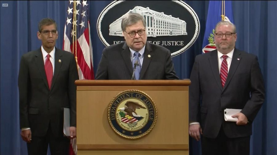 Attorney General William Barr formally indicts Venezuelan President Nicolás Maduro on accounts of drug trafficking and narco-terrorism.