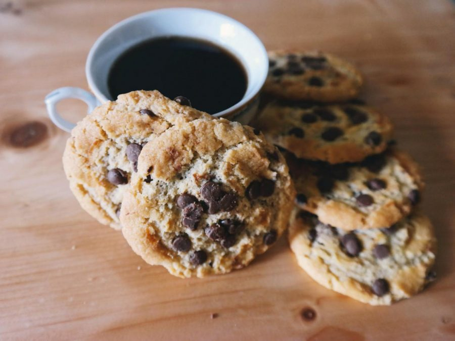 Ease your stress during times like these with delicious recipes including yummy peanut butter chocolate chip cookies.